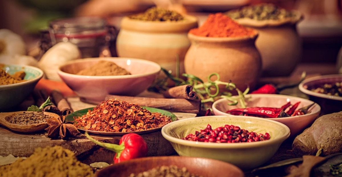Spicy foods and spices