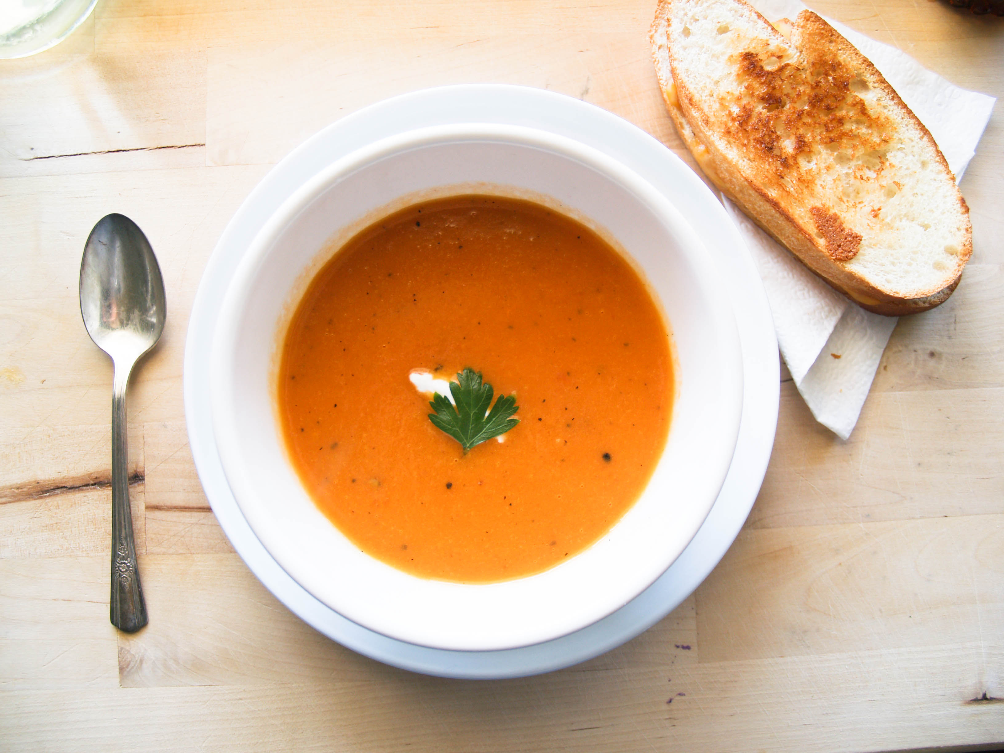 Savory Tomato Soup Recipe Without The Cream Tasty Casserole