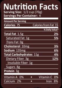 Arctic Zero Brownie Blast Nutrition Info