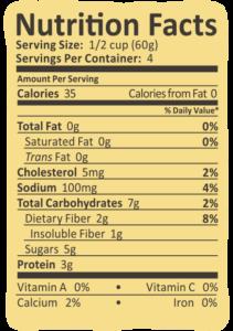 Arctic Zero Cake Batter Nutrition Info
