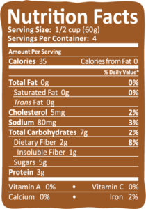 Arctic Zero Chocolate Peanut Butter Nutrition Info