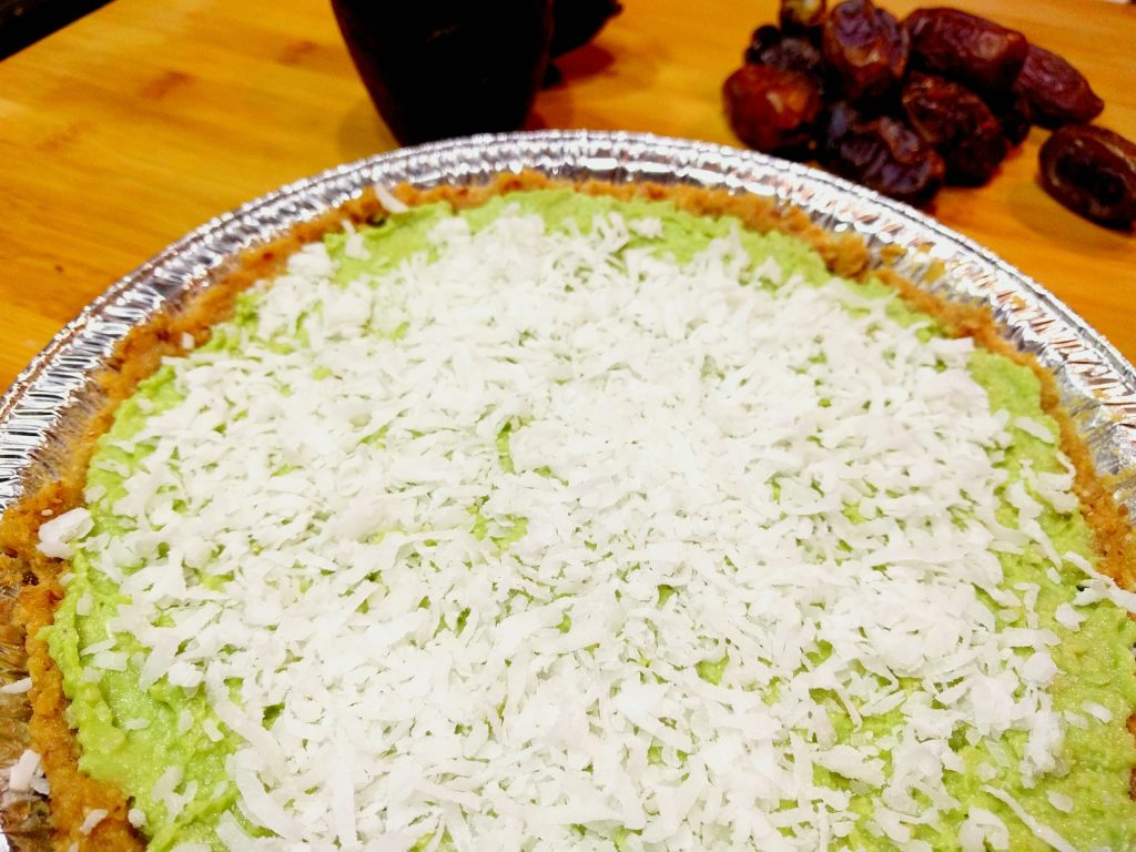 No Bake Vegan Coconut Key Lime Pie