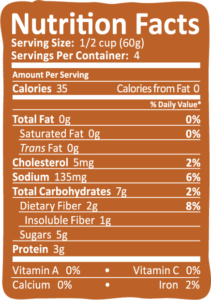 Arctic Zero Salted Caramel Nutrition Info