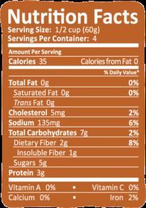 Arctic Zero Salted Caramel Nutrition Info