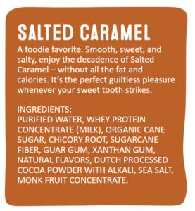 Arctic Zero Salted Caramel Ingredient List